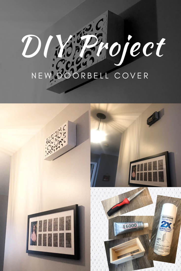 Picture of: Diy Doorbell Chime Cover Tutorial The Blonde Assistant